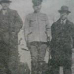 March 1932. f.l.t.r.: Miura Makoto, Kimura Ryûjirô, Fujita Seiko.