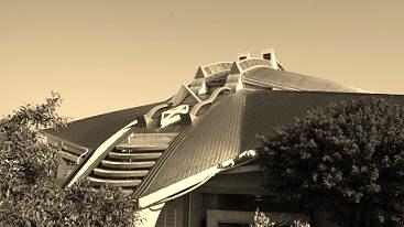 Roof of Okinawa Kenritsu Budokan Main Arena