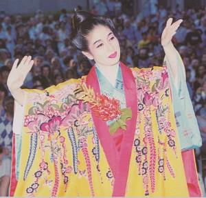 Ms. Masako Ganiku 1993 in Zürich, Switzerland.