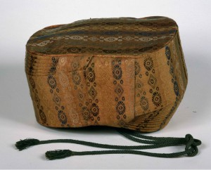 Hachimaki, © National Museums in Berlin, Prussian Cultural Heritage, Museum of Ethnology. Photographer: Claudia Obrocki.