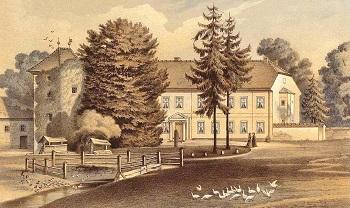 Garz Castle around 1865 - Collection Alexander Duncker.