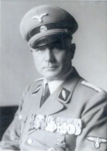 Düsseldorf police chief, SS Brigade Commander August Korreng.
