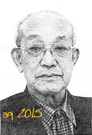 "Tsujikawa Yoshiaki,advisor of the Zen Nihon Karate-dō Renmei (JKF),""elder statesman"" of the Zen Nihon Karate-dō Renmei Shitōkai (JKF Shitōkai)"