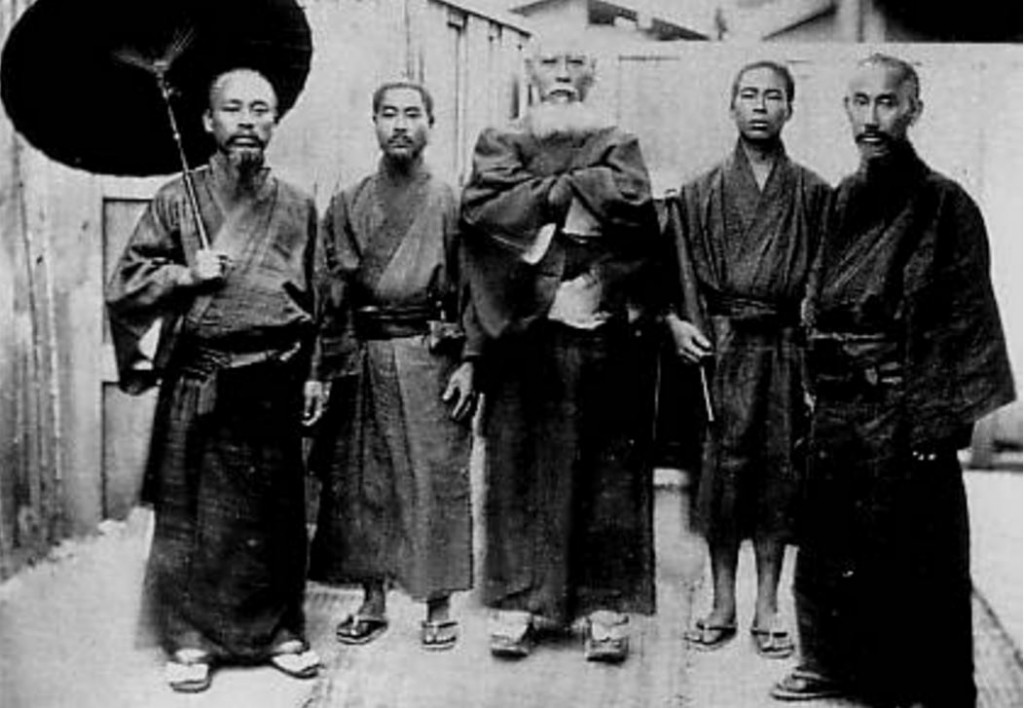 Meiji era Ryukyuans: Can you tell which side they were on from looking at their faces? Picture source: Wikipedia.