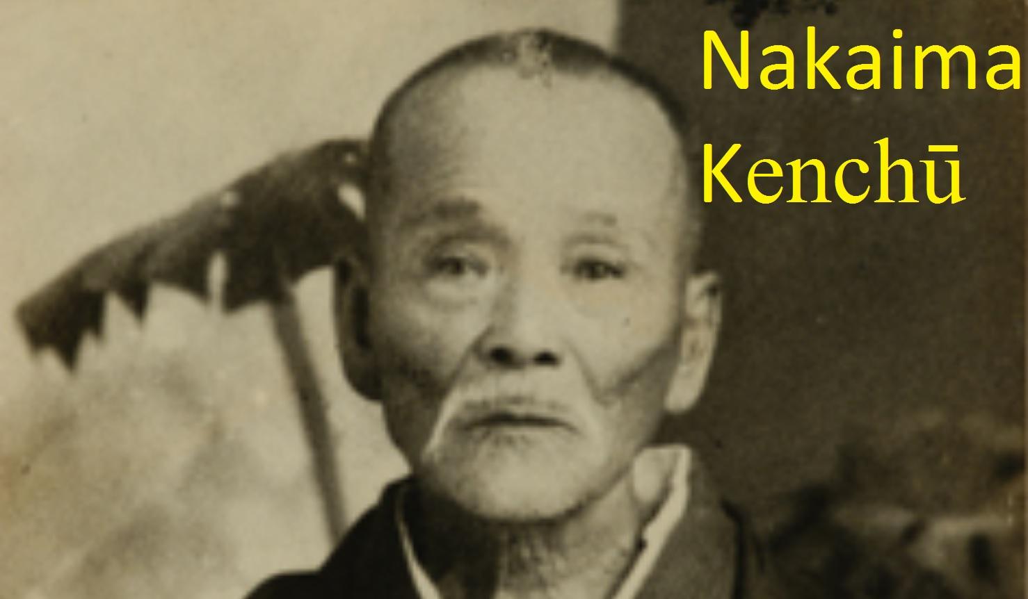 Nakaima Kenchu (1856-1953)