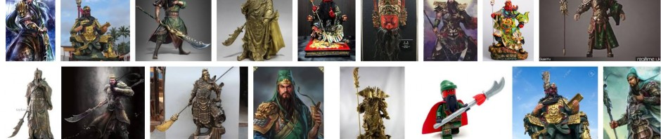 Guan Yu, as shown in a Google picture search.