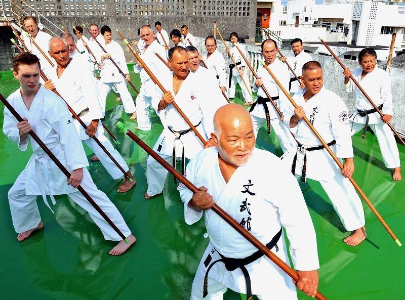 Nakamoto Masahiro with kata